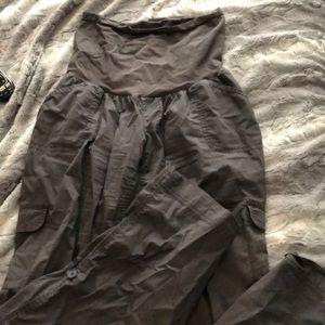 Cargo pants/Capri maternity pants